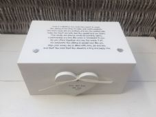 Shabby Personalised Chic Gay Wedding Present EXTRA LARGE Gift Memory Box